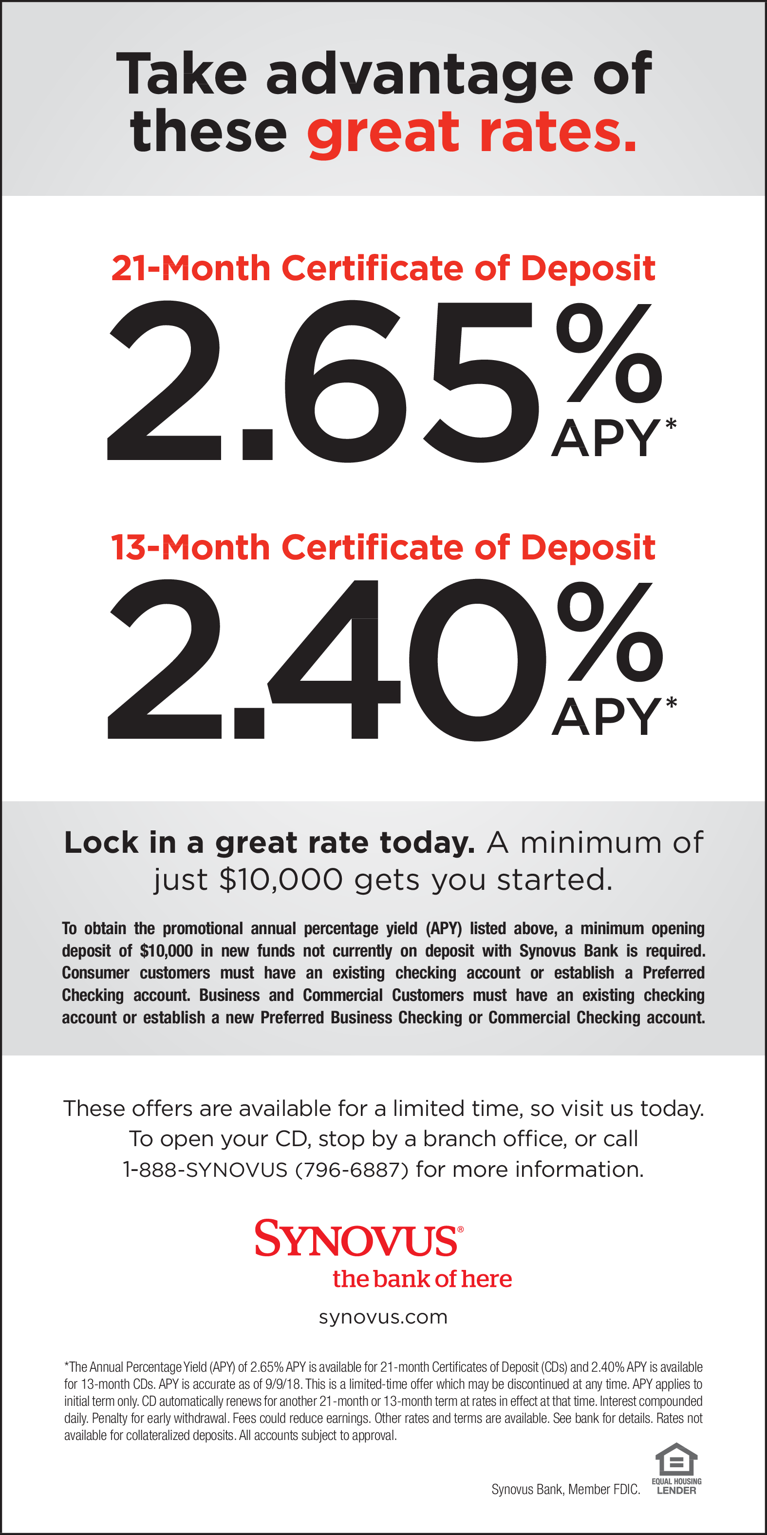 Take Advantage Of These Great Rates In Hartwell Ga Financial